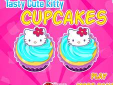 Tasty Cute Hello Kitty Cupcakes