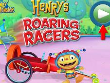 Henry Hugglemonster Roaring Racers
