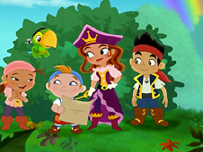 Jake and the NeverLand Pirates Puzzle