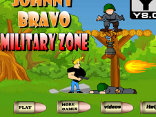 Johnny Bravo Military Zone