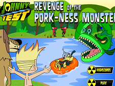 Johnny Test Revenge of the Pork-Ness Monster