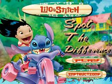 Lilo and Stitch Spot the Difference