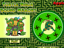 Ninja Turtles Sound Memory
