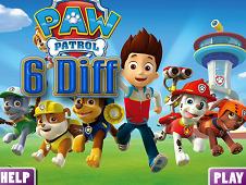 Paw Patrol 6 Diff
