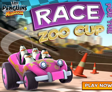 Race Zoo Cup: Penguins Of Madagascar