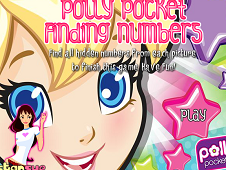 Polly Pocket Find the Numbers