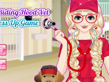 Red Riding Hood Vet Dress Up