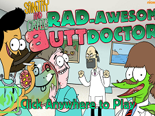 Sanjay and Craig Rad Awesome Butt Doctors