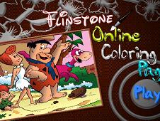 Flinstones Online Coloring Page