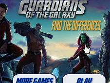 Guardians of the Galaxy Find the Differences