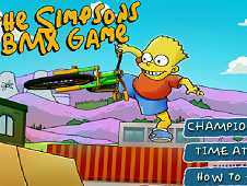 The Simpsons Bmx Race