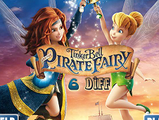 Tinkerbell Pirate Fairy Diff