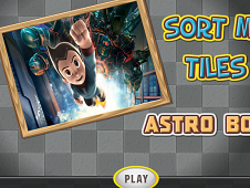 Astro Boy Sort my Tiles