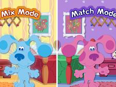 Blue Clue Mix and Match
