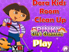 Dora Kids Room Clean Up