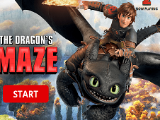 The Dragon's Maze: Dreamworks Dragons