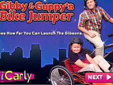 Gibby and Guppy's Bike Jump
