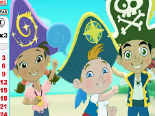 Jake and the NeverLand Pirates Hidden Numbers
