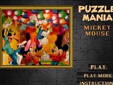 Puzzle Mania Mickey Mouse