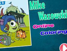 Mike Wazowski Online Coloring