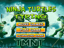 Ninja Turtles Typing