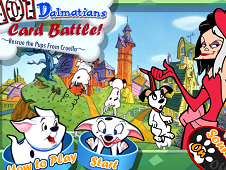 101 Dalmatians Card Battle