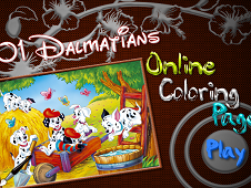 101 Dalmatians Online Coloring