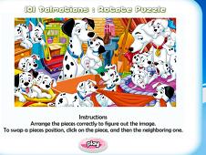 101 Dalmatians Rotate Puzzle