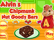 Alvin's Chipmunk Nut Goody Bars