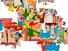 Puzzle Asterix and Obelix
