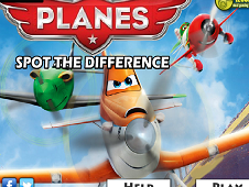 Disney Planes Spot the Difference
