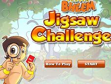 Chhota Bheem Jigsaw Challenges