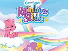 Care Bears Rainbow Slide
