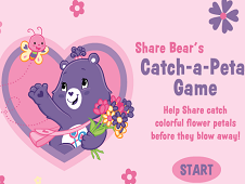 Share Bear's Catch a Petal Game