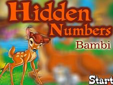 Bambi Hidden Numbers