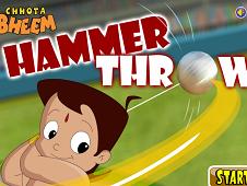 Chhota Bheem Hammer Throw