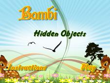 Bambi Hidden Objects