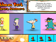 Phineas and Ferb Color Memory