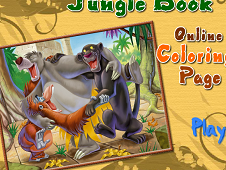 Jungle Book Online Coloring Page