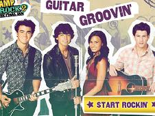 Guitar Grooving Jonas Brothers