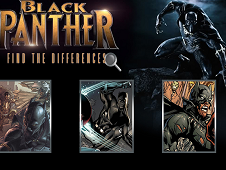 Black Panther Find the Differences