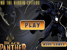 The Black Panther Find the Hidden Letters