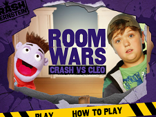 Room Wars Crash and Cleo