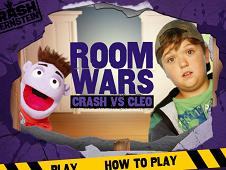 Room Wars Crash and Cleo