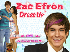 Zac Efron Dress Up 2