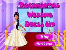 Pocahontas Wedding Dress Up