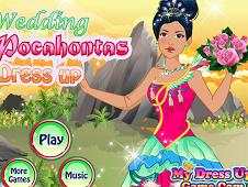 Wedding Pocahontas Dressing