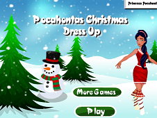 Pocahontas Christmas Dress Up