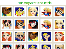 DC Super Hero Girls Memory