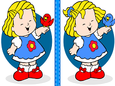 Little People Find the Differences